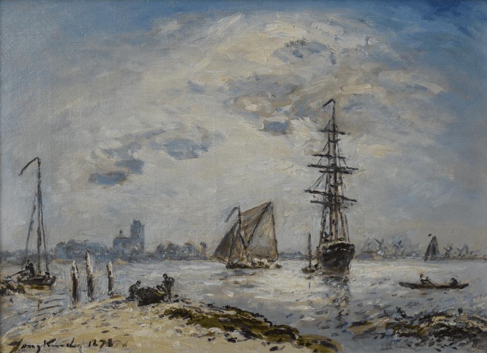 Zeilschepen voor Dordrecht