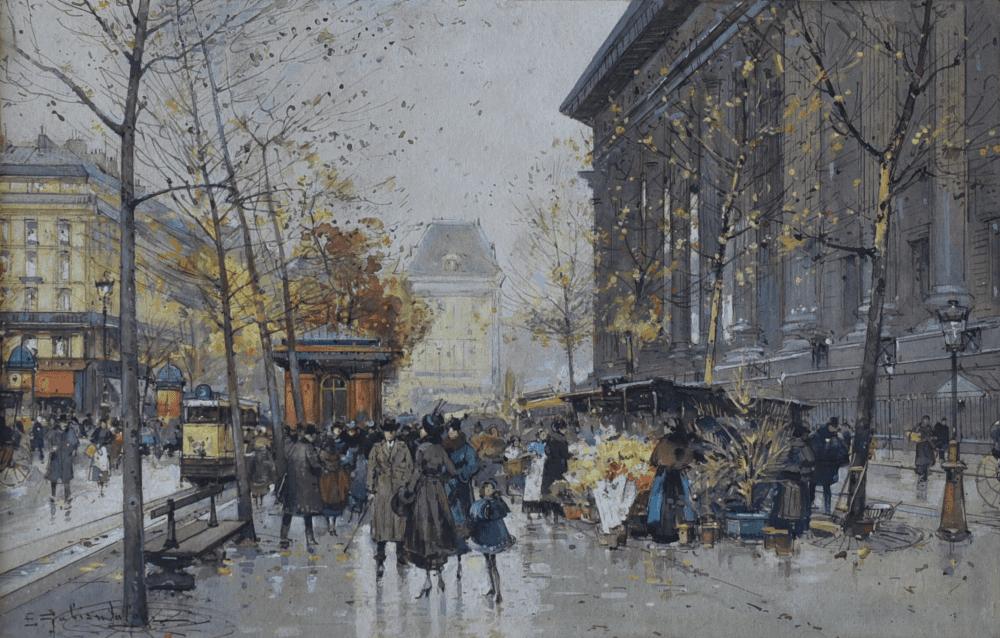 Place de la Madeleine à Paris