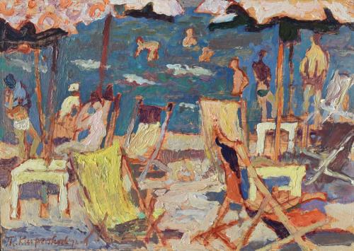 Strandgezicht, Ravenna