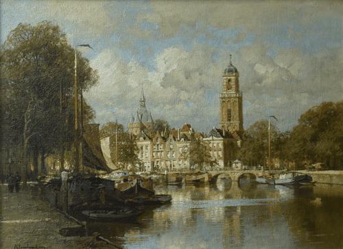 Gezicht op Zwolle